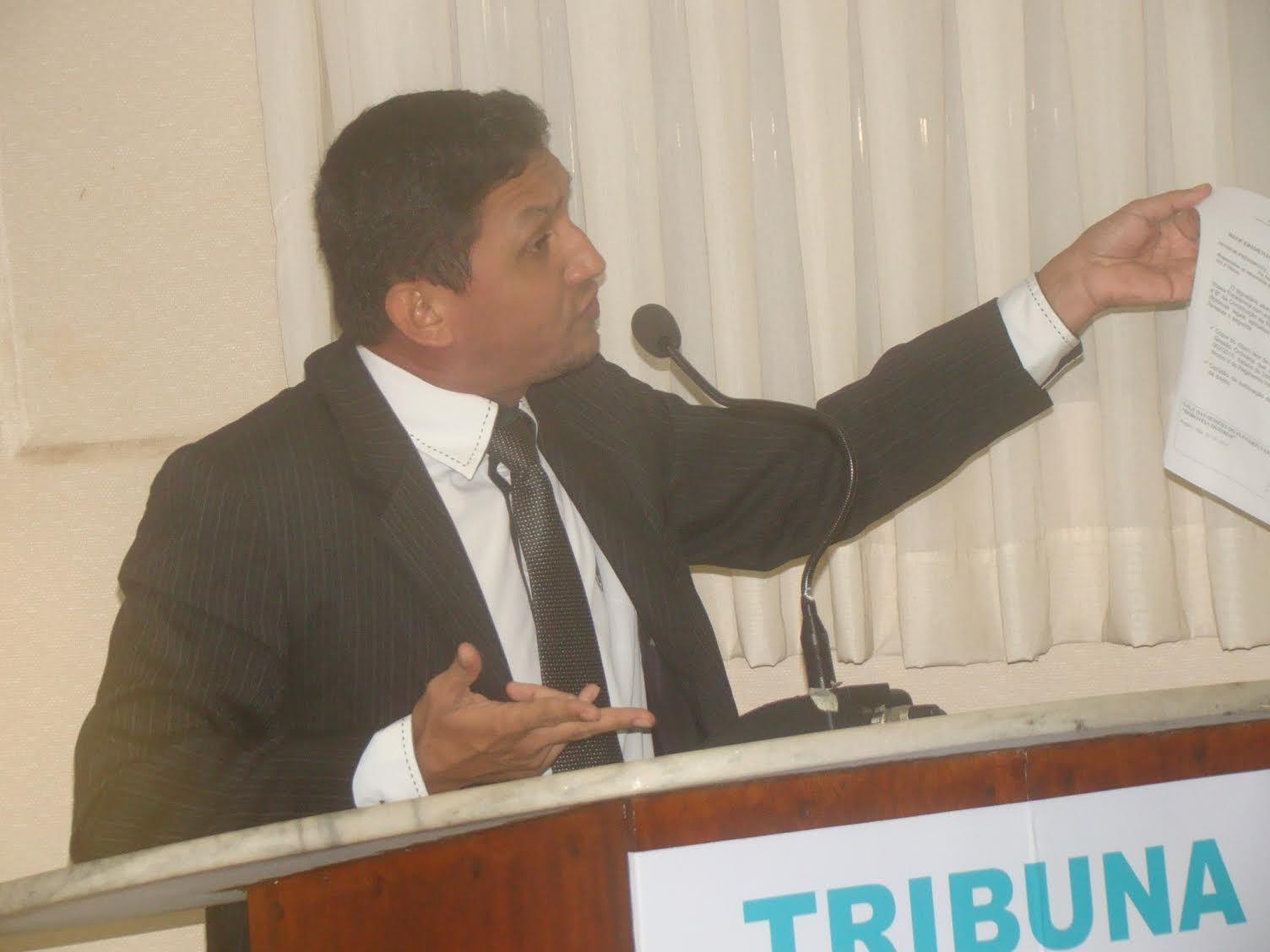 Vereador Jardson Frazão (PP). Foto: Joseilson de Jesus