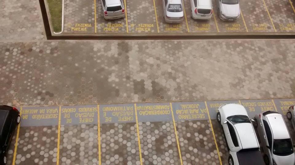 Para evitar 'privatização' de estacionamentos públicos, entidade diz que proposta pretende garantir vagas em órgãos do Poder Judiciário da capital maranhense.