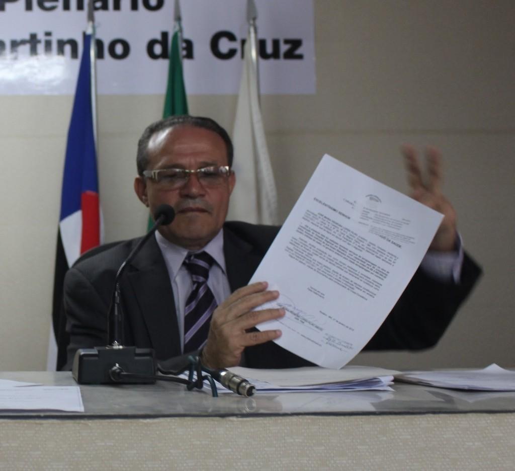 Vereador Necó diz que desconhece essa questão sobre a 'privatização' da rodoviária