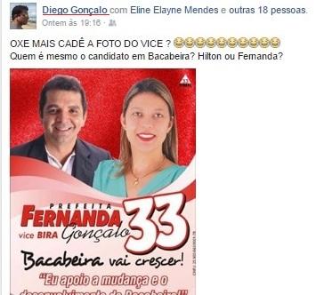 O fake usado para atacar candidata da oposição está disponível na internet