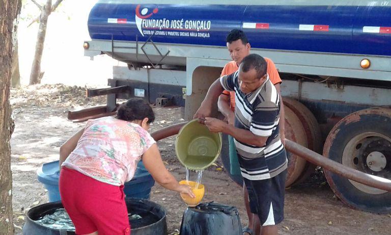 Principal desafio de Fernanda Gonçalo é mudar o índice de cobertura de água na cidade.