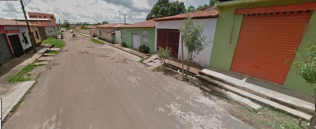 Rua onde empresa informou na Junta Comercial que funciona sua sede em Pinheiro