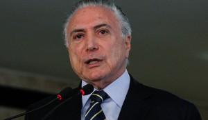 O presidente Michel Temer determinou o afastamento de quatro dos 12 vice-presidentes da Caixa. (Marcos Corrêa / PR)