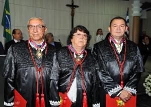 Luiz Gonzaga Almeida, Josemar Lopes e José Jorge Figueiredo dos Anjos passam a integrar a mais alta corte judiciária do Maranhão
