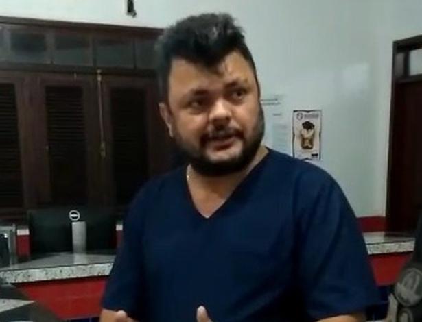 Paulo Roberto Costa foi preso acusado de negar atendimento a um recém-nascido (Foto: Divulgação)