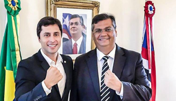 Duarte Júnior e Flávio Dino cometem crime eleitoral até dentro do Palácio