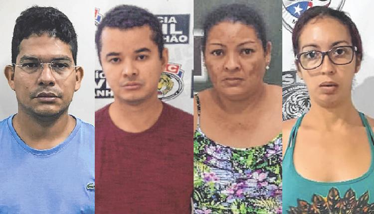 Leonel, Marksuel, Ana Lúcia e Thatielle envolvidos no golpe do WhatsApp (Divulgação)