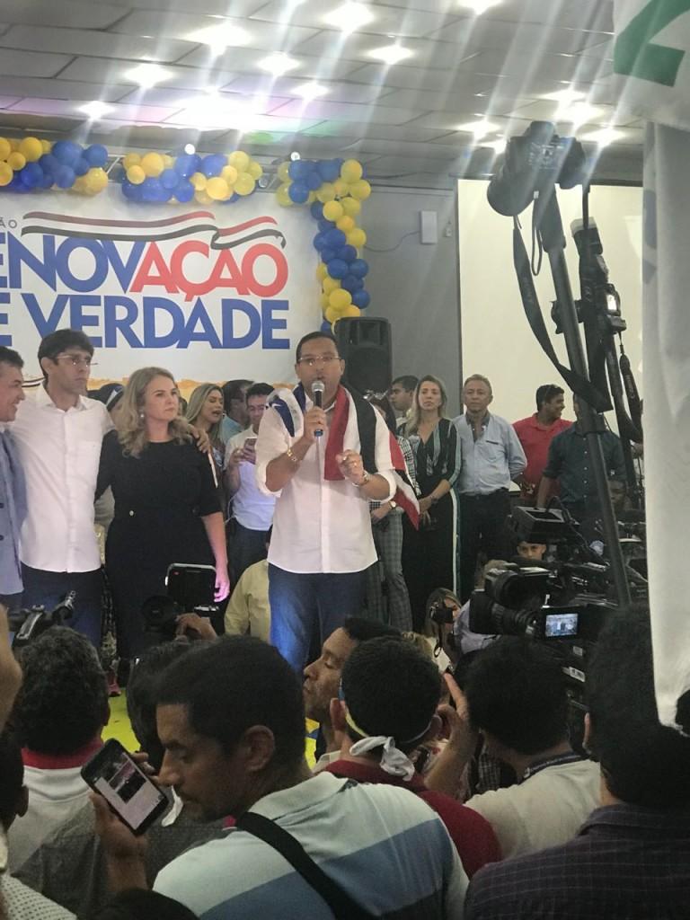 Ricardo Diniz confirma candidatura a deputado estadual.