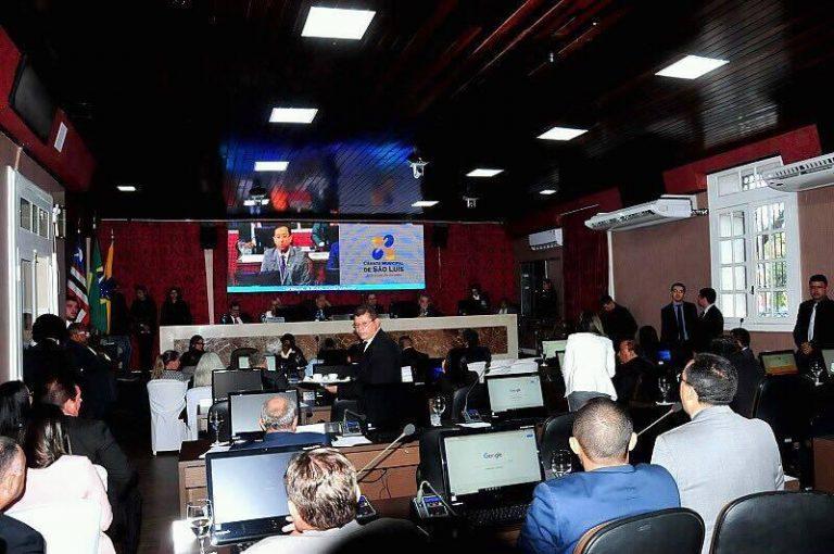 Na Câmara Municipal de São Luís, 11 dos 31 vereadores estão na disputa eleitoral de outubro deste ano (Foto: Reprodução)