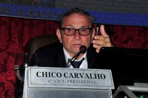Chico Carvalho comandou ato Pro-Bolsosonaro em São Luís.